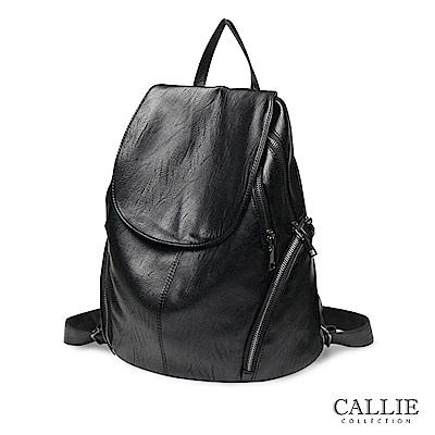 CALLIE   威尼斯系列   柔軟質感後背包 Veneto 黑