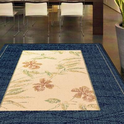 范登伯格 - 光庭天然羊毛花印進口地毯 -淡藍(170x230cm)