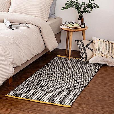 哈里印度手工地毯-現代80x150cm (H014266682)