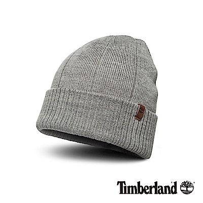 Timberland 男款灰色秋冬編織反摺毛帽 A1EGY @ Y!購物