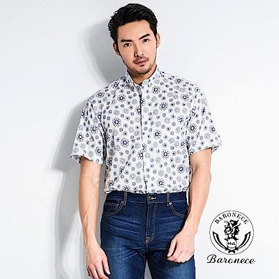 BARONECE 日系風格花朵襯衫(518408-10)