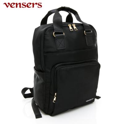 【vensers】都會風後背包(RB0980501黑色)