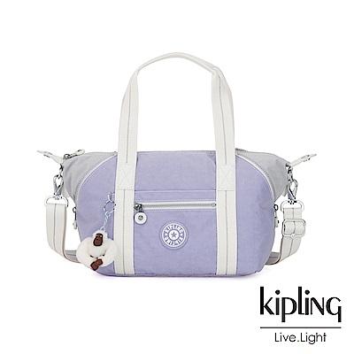 Kipling 法式丁香紫手提側背包-ART MINI