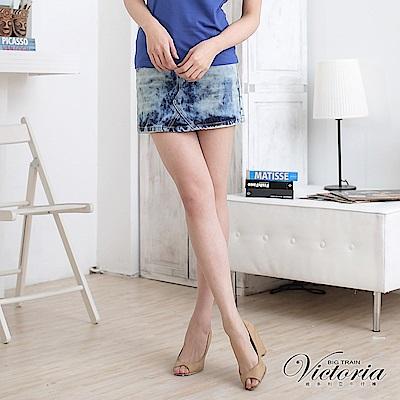 Victoria A字裙-女-淺藍