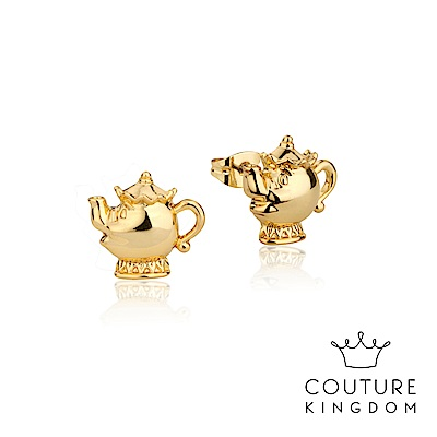 Disney Jewellery by Couture Kingdom 茶壺夫人鍍金耳釘