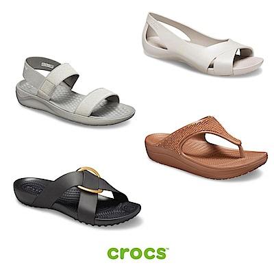 【品牌週限定】 Crocs卡駱馳 熱銷女鞋均一價1000(多款任選)