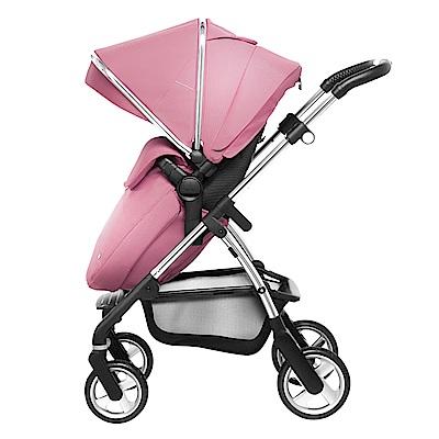 奇哥 英國Silver Cross Wayfarer 雙向嬰兒推車-復古粉