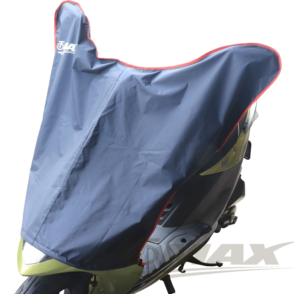 OMAX尊爵機車龍頭罩S-藍黑