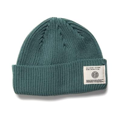 Deus Ex Machina  Delta Beanie 毛線帽 -(藍綠)