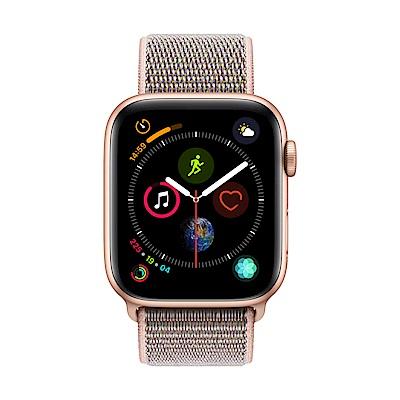 Apple Watch Series 4(GPS) 44mm金色鋁金屬錶殼+粉沙色錶環