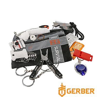 Gerber 貝爾求生系列 戶外野營急難工具包十六件套組 31-000701