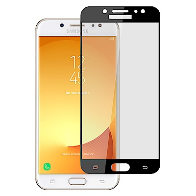 【Ayss】三星Samsung J7+滿版手機玻璃保護貼/鋼化玻璃膜