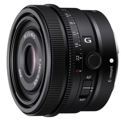 SONY FE 40mm F2.5 G SEL40F25G 標準定焦鏡頭 公司貨