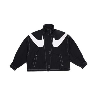 NIKE 女 AS W NSW RPL SWSH WVN GX JKT  棉質運動外套 -DD5585010