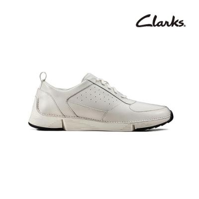 Clarks   三瓣工藝   Tri Sprint  男休閒鞋  白色  CLM49468SC20