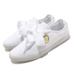 adidas 休閒鞋 Sleek LO W 復古 女鞋 愛迪達 三葉草 流行款 極粗鞋帶 白 金 FV0740