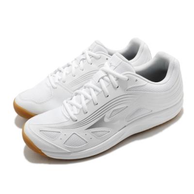 Mizuno 排球鞋 Cyclone Speed 3 男鞋 美津濃 運動 避震 速度 抓地 耐磨 白 銀 V1GA218003