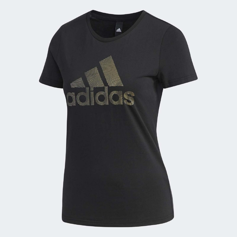 adidas T恤 Foil T-Shirt Logo 女款 @ Y!購物