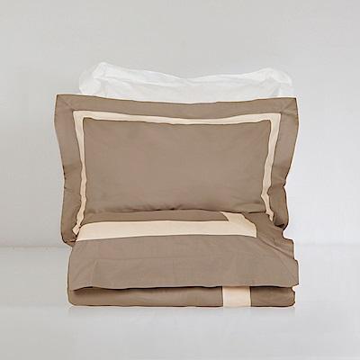 BUNNY LIFE 枕套-香草拿鐵-絲光精梳棉-皇家森林