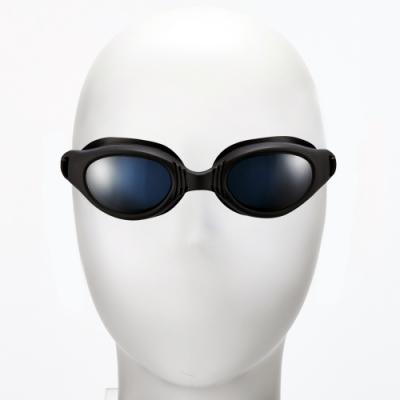 聖手牌 泳鏡 新潮平光防霧泳鏡(黑色)