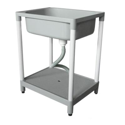 泰家 高級耐用陽台自組式洗衣槽