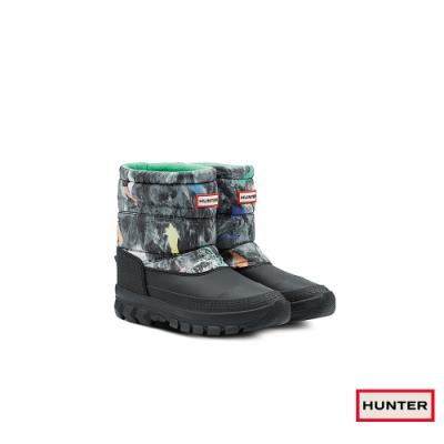 HUNTER - 女鞋 - Original短筒雪靴 - 綠