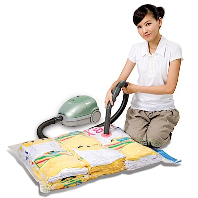 【百特兔】衣物棉被壓縮袋3入M-70x90cm