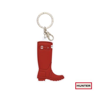 HUNTER - 威靈頓長靴鑰匙圈-紅色