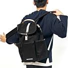 RAWROW-公園系列-15吋兩用束口後背包(手提/後背)-墨黑-RBP700BK