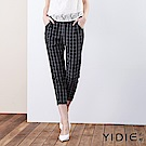 【YIDIE衣蝶】英倫風經典格紋西裝褲