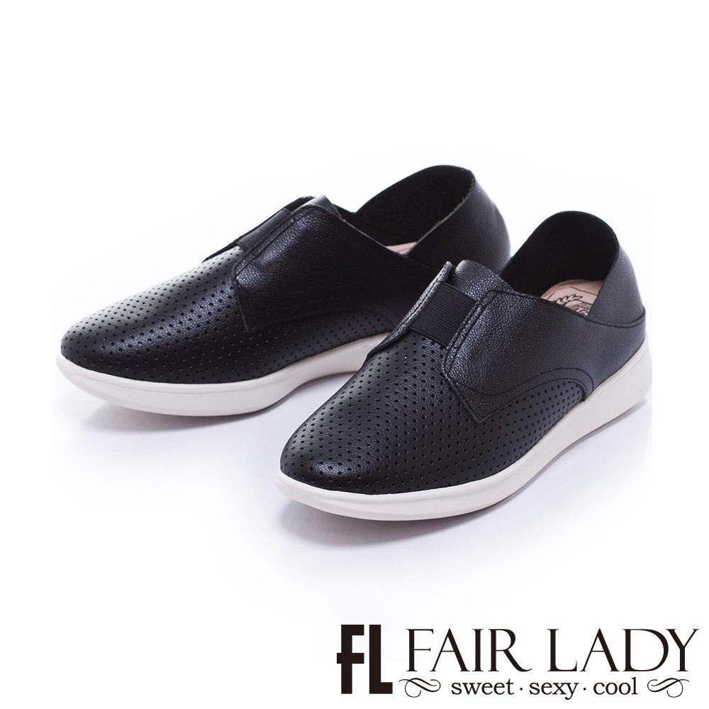 Fair Lady Soft Power 軟實力 好搭時尚透氣便鞋 黑