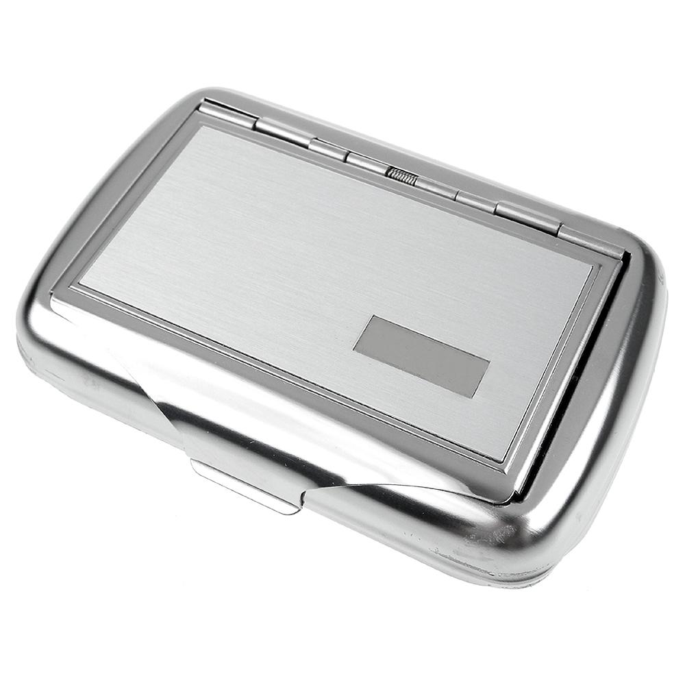 英國進口 TOBACCO CASE-馬口鐵製收納盒(煙盒/捲煙紙盒/煙草盒)-刷紋款