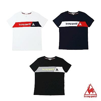 法國公雞牌短袖T恤 LOM23107-中性-多色