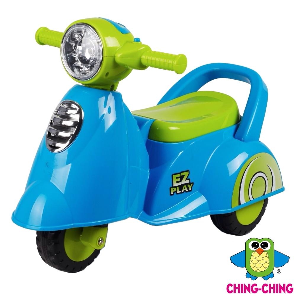 親親Ching Ching 小偉士音樂學步車(滑行車)-兩色可選