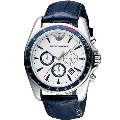 Emporio Armani 飛鷹計畫計時腕錶(AR6096)44mm