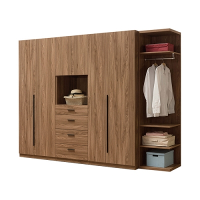 H&D 亞伯斯8.5尺組合衣櫃