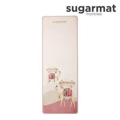 加拿大Sugarmat 頂級TPE瑜珈墊 (5mm)粉彩駱駝Camel with Rugs
