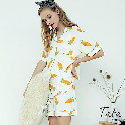 俏皮胡蘿蔔兩件式家居服 TATA