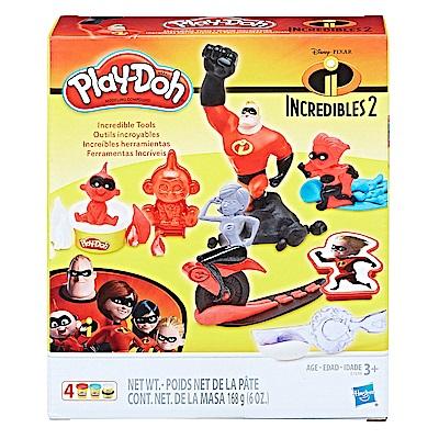 培樂多Play-Doh 創意DIY黏土 超人特攻隊遊戲組 E1939