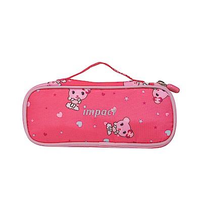 【IMPACT】粉紅熊熊筆袋-粉紅色 IM00L07PK
