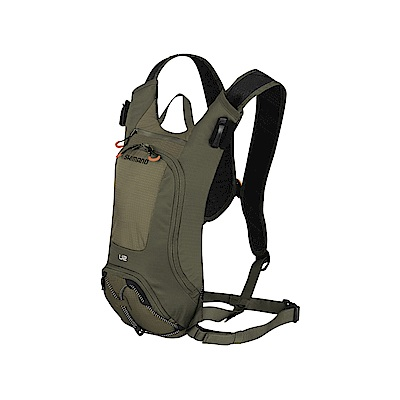 【SHIMANO】UNZEN 2L 自行車水袋背包 橄欖綠
