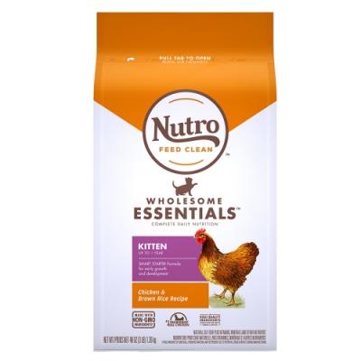 Nutro 美士 全護營養 幼母貓配方(農場鮮雞+糙米)5磅 2包組