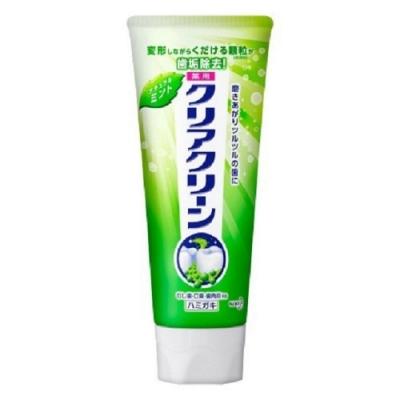 日本花王kao Clearclean牙膏 自然薄荷130g
