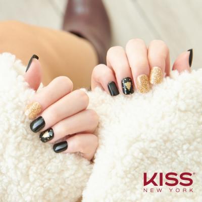 KISS New York-Press&Go頂級光療指甲貼片-洛克菲勒之夜(KPNS25K)