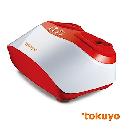 (福利品)tokuyo 3D摩速滾足樂TF-603(寶石紅)