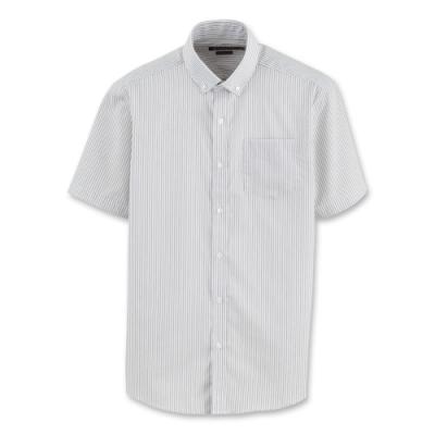 Hang Ten - 男裝 - 防皺都會直條紋襯衫 - 灰