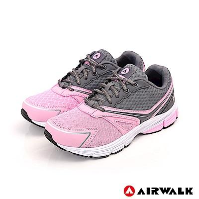 【AIRWALK】迴力青春高彈運動鞋-女款-深灰
