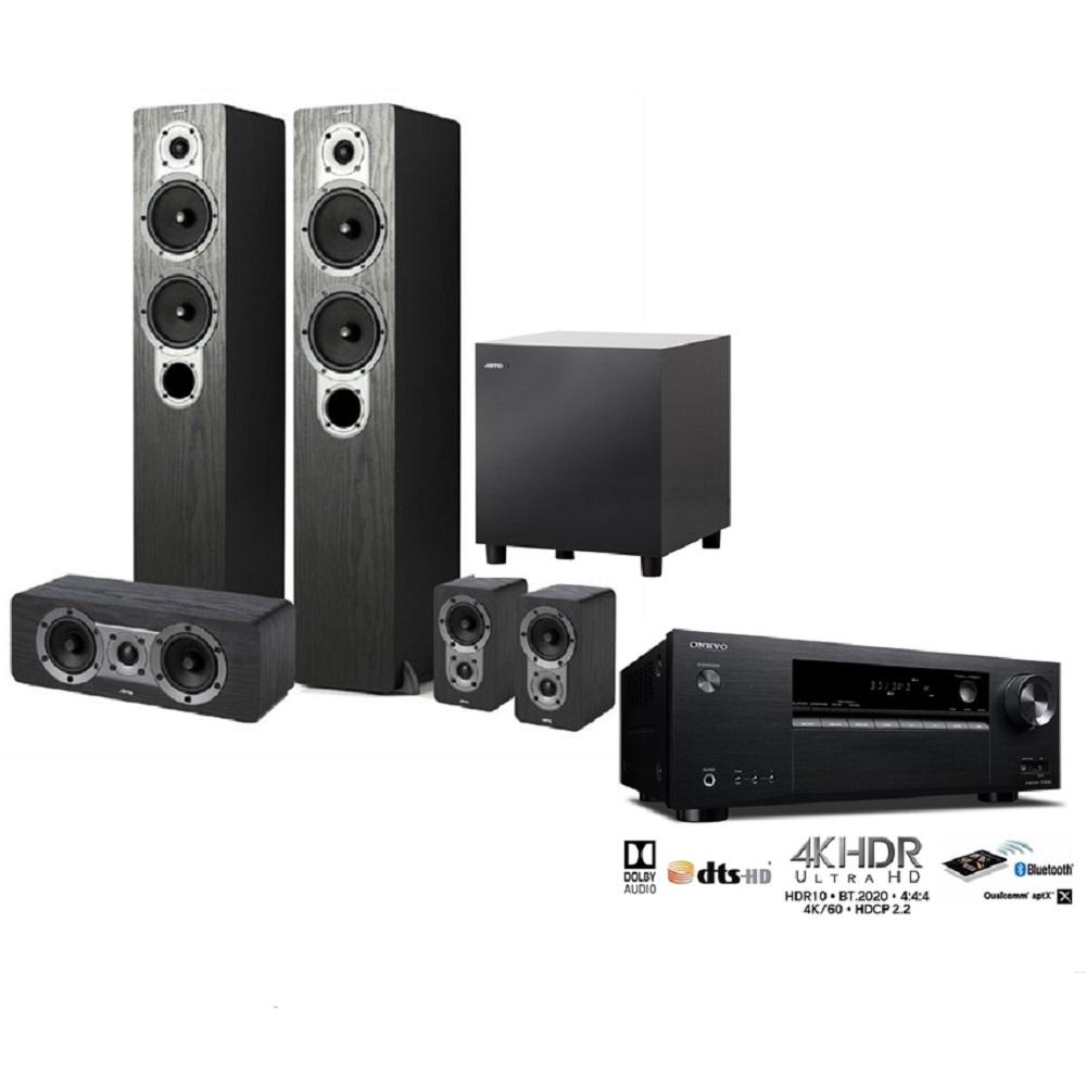 Jamo S426HC3含重低音 +Onkyo TX-SR383  7.2聲道家庭劇院