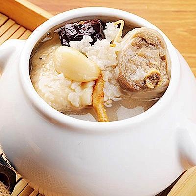 任選_膳食家 人蔘糯米燉雞湯(420g)