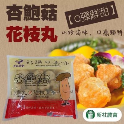 【新社農會】杏鮑菇花枝丸 (600g / 包  x2包)